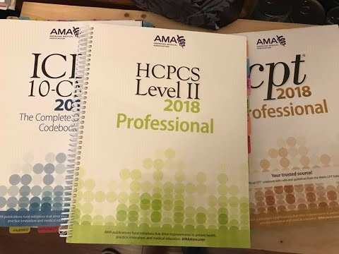 Review of books, cpc books for testing, tabbing CPT book, tabbing for cpc exam, CareerStep course