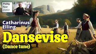 Catharinus Elling : Dansevise (Dance tune)