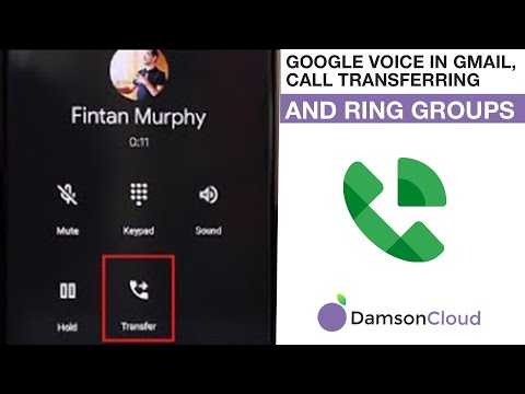 Google Voice in Gmail, Call Transferring and Ring Groups