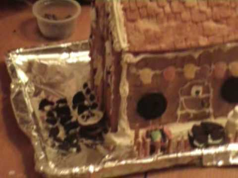 Gingerbread House - Gluten-free, Dairy-free, Egg-free, Nut-free