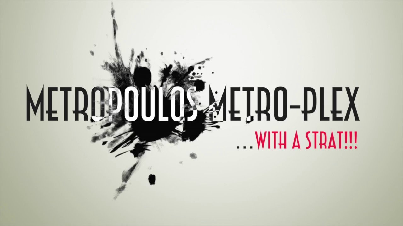 MusicPlayers com: Reviews > Guitars > Metropoulos Metro-Plex