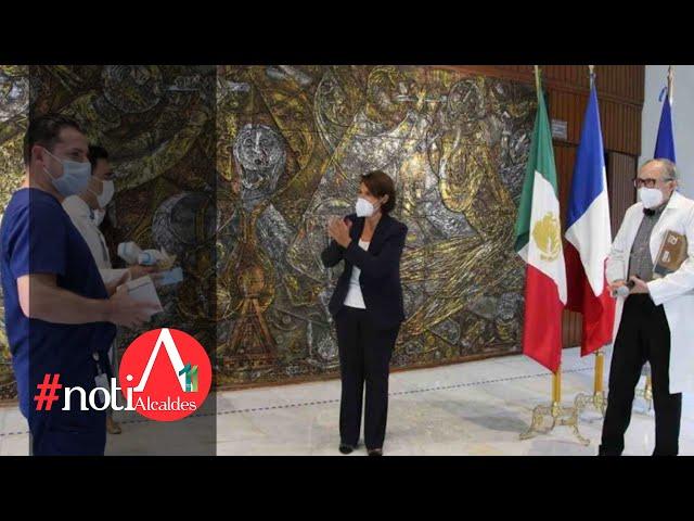 NotiAlcaldes: Francia dona insumos a México para enfrentar la pandemia por COVID-19