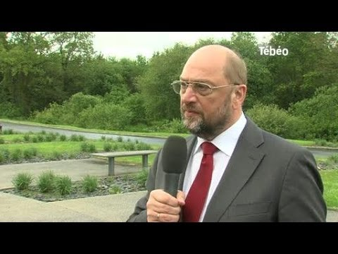 Européennes : Interview de Martin Schulz (Brest)