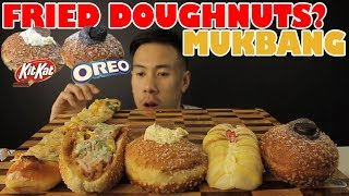 [MUKBANG] FRIED DOUGHNUTS+BAKERY GOODNESS-MASSIVE BITES