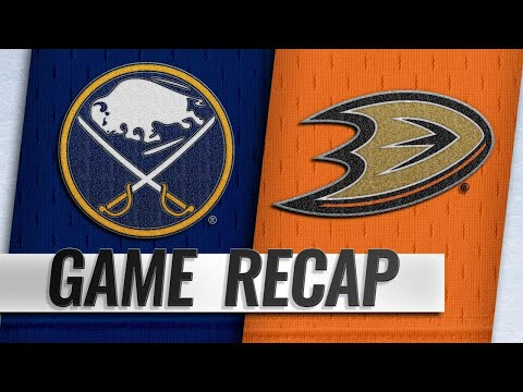 Ristolainen pots game-winner as Sabres top Ducks