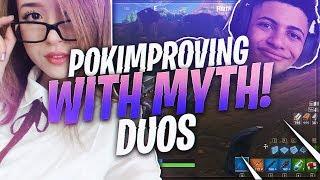 TSM Myth - SOON ENOUGH POKI WILL BE CARRYING ME!!! (Fortnite BR Full Match) thumbnail