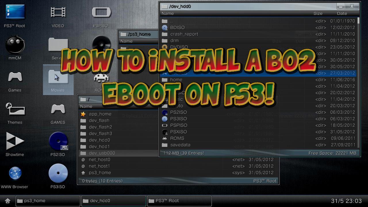 Eboot Ps3 Original