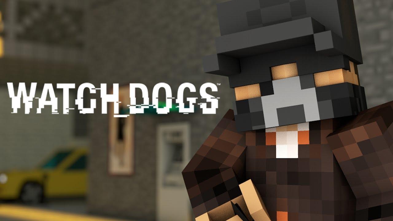 Minecraft Watch Dogs  Skin