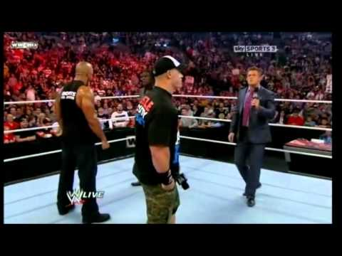 John Cena And The Rock Confront Awesome Truth
