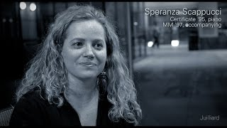 Juilliard Snapshot: Speranza Scappucci on