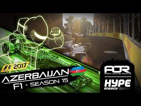 AOR HYPE Energy F1 Season 15 - Azerbaijan Highlights