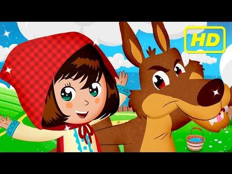 Little red riding hood | Short stories for children | Clap Clap Kids
