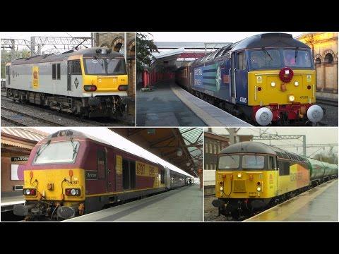 Blast from the Past - DBC 92's + Former British Railway Workings