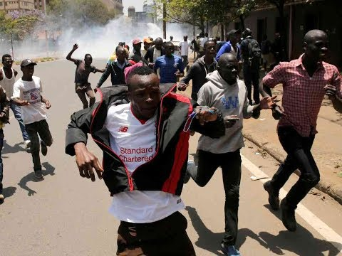 Police manage to quell Anti-IEBC Demos in Mombasa town