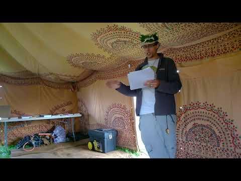 Vegan Organic Growing Talk at Northern Green Festival Talk 2017