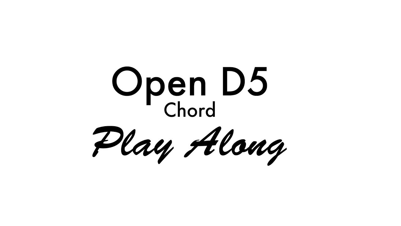 Open D5 Power Chord Youtube