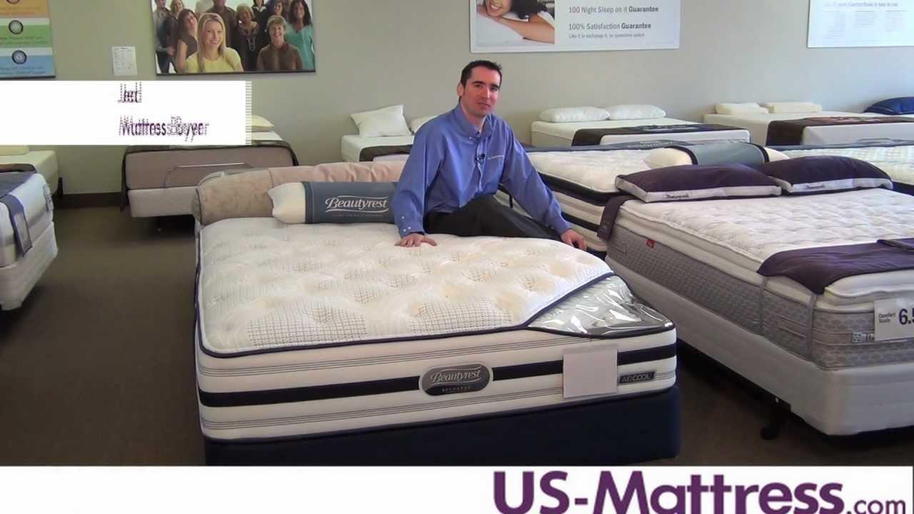simmons beautyrest recharge world class plush mattress youtube