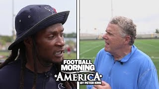 DeAndre Hopkins reveals the secret to his reliable hands (FULL INTERVIEW) | NBC Sports