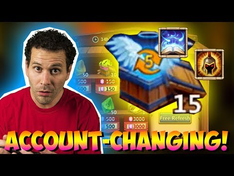 JT's F2P GAME CHANGING DAY! Everyone Gets TALENTS! Castle Clash