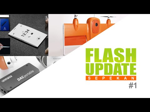 Flash Update Sepekan #1: OPhone, Clairy, DACportable, Wingtra