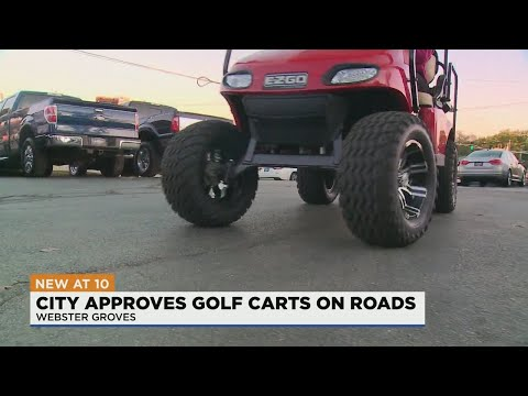 Webster-Groves-passes-ordinance-to-allow-golf-carts-on-main-roads