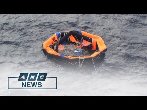 2nd Filipino survivor from capsized freighter rescued off Japan | ANC