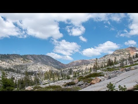 Backpacking And Fishing Desolation Wilderness - Rockbound Pass To Lake Schmidell