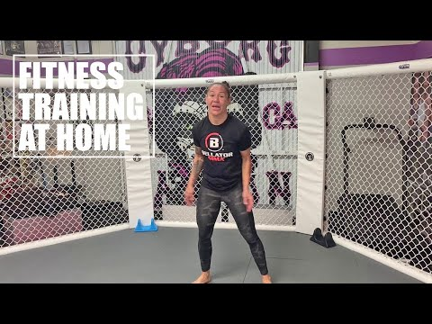 Fitness Training At Home With Cris Cyborg Bellator MMA, UFC, Invicta FC, StrikeForce World Champion