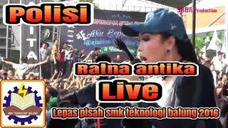 Polisi RATNA ANTIKA SAGITA JEMBER live SMK TEKNOLOGI angkatan 2016/2017
