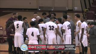 RIC Anchormen Basketball vs Eastern Connecticut State University 1-30-16