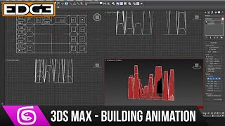 3Ds Max Tutorial - Rising Buildings Animation