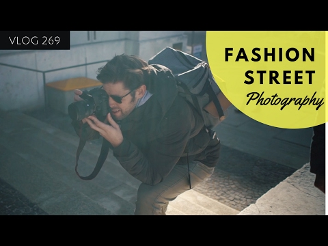FASHION STREET PHOTOGRAPHY WITH A FASHION BLOGGER IN MUNICH