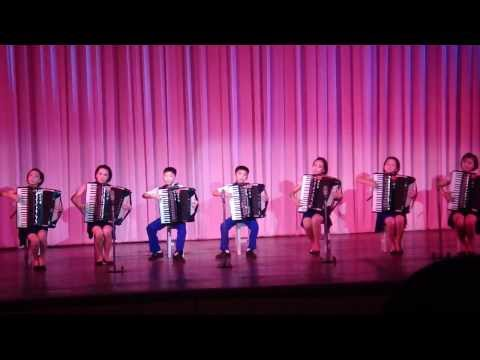 An Accordion Performance At North Korea's Mangyongdae Children's Palace