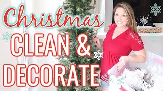 NEW! CLEAN AND DECORATE WITH ME | CHRISTMAS 2019 | RUSTIC GLAM HOLIDAY DECOR Video