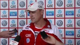 SwansTV - John Longmire press conference