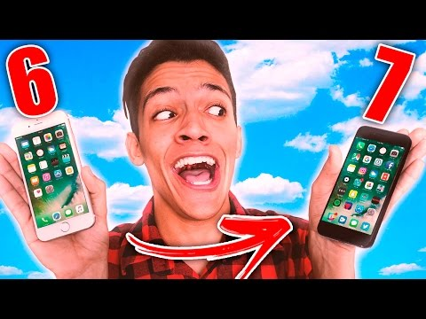 TRANSFORMANDO O IPHONE 6 NO IPHONE 7 | André Victor
