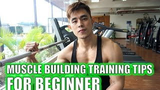 Muscle Building Training Tips for Beginner
