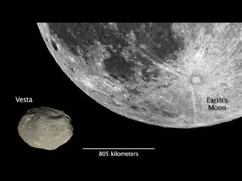 Monster asteroid Vesta now close enough to see - Asteroid 4 Vesta ...