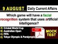 9 August 2018 Current Affairs | Daily Current Affairs | Current Affairs in English