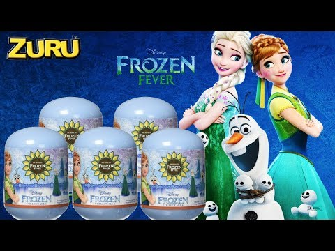 Disney Frozen Fever Mini Figure Mystery Packs