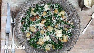 Kale Caesar Salad    Abel & Cole