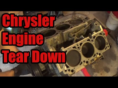 What went wrong? Chrysler 3.5 Engine Tear Down