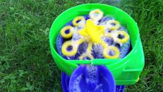 gazillion bubble machine backyard fun tornado bubbles awesome