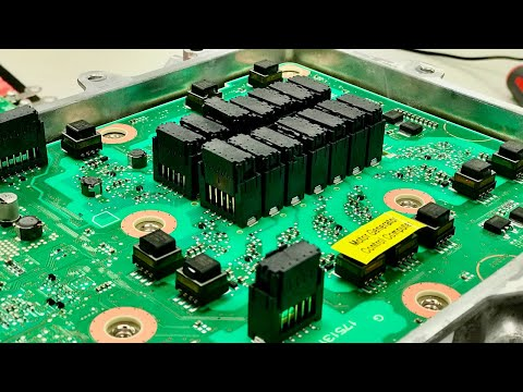High Voltage Hybrid Systems - 2017 Toyota Prius Inverter with Converter