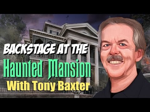 Tony Baxter Backstage at the Haunted Mansion (Sound Synced)