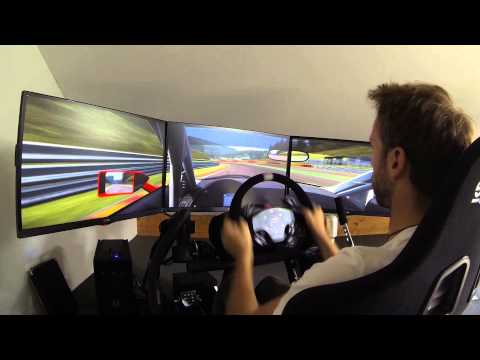 Preparation for the big 24hSpa Race with Project Cars