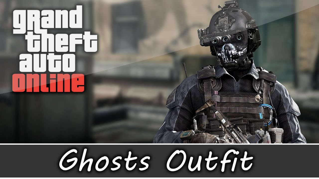 GTA 5 Online - Call of Duty Ghost Outfit & Keegan Outfit and Customization