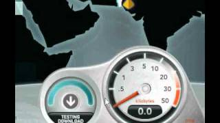 PTCL DSL SPEEDTEST ON 4MB WATCH!