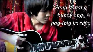 Pag-ibig - Yeng Constantino (fingerstyle guitar cover)