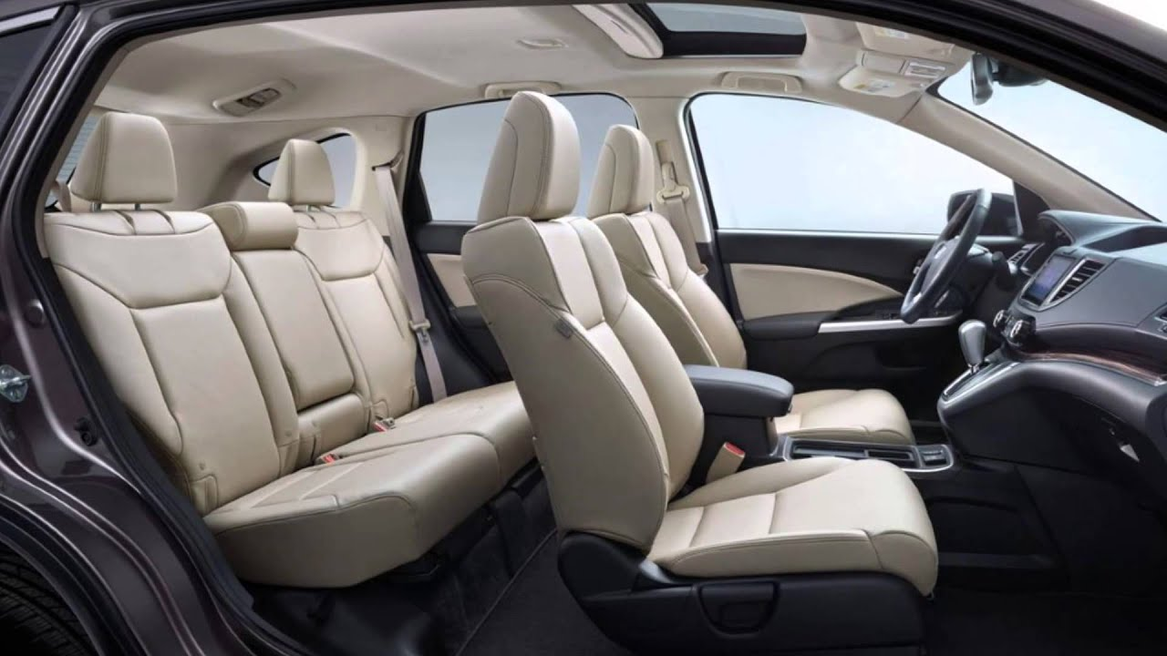 2015 Honda Cr V Interior Details Youtube